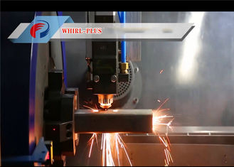 500W 2 In 1 Metal Pipe Laser Cutting Machine Shock Resistance with Stable Operating System